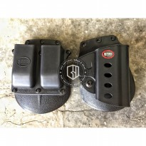 B.E.S.T Holster Fobus Beretta M9 M92 M96 Tactical holster with Double Magazine