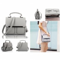 Tas Slingbags Abu Grey Like Gosh Guess Gucci Wanita Handbag Import Mal