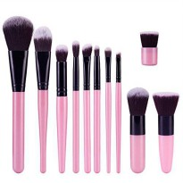 [macyskorea] Silvercell 11 pcs Bamboo Brushes Handle Cosmetic Makeup Eyeshadow Concealer T/18811049