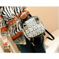 Tas Tenteng Hand Bag Bnw Black And White Palomino Gosh Wanita Elegan