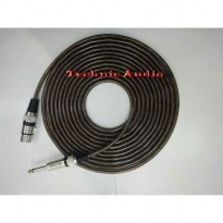 Kabel MicMicrophone Cable Canare  Xlr Female  To Akai 10 Meter Harga Promo10