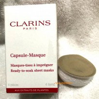 CLARINS CAPSULE-MASQUE 4 PIECES