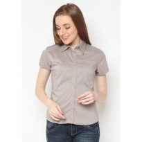 Mobile Power Ladies Long Sleeve Shirt - Grey K8306J