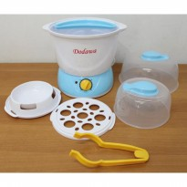 [Dodawa] Multi Function Steam Sterilizer DD-06, Pensteril Botol Susu Bayi & Anak, Pengkukus Telur