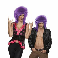 [macyskorea] West Bay HIGH QUALITY PURPLE PUNK SPIKE ROCK AND ROLL HEAVY METAL SYNTHETIC H/18813478