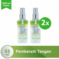 [POP UP AIA] Antis Botol Spray Timun 55Ml x2