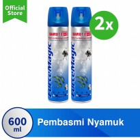 [POP UP AIA] Force Magic Blue 600 Ml x2