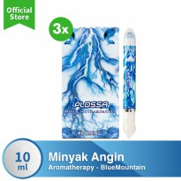 [POP UP AIA] Plossa Minyak Angin Aromatherapy 4in1 - BlueMountain (3pcs)