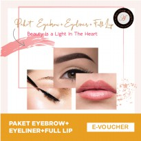 Aloha - Eyebrow + Eyeline + Full Lip