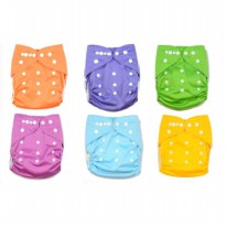 Luvable Friends - Reusable Cloth Diaper All-in-One Popok Cuci Ulang