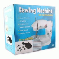 MINI Portable Sewing machine LSS202 2 Benang 1 Pedal mesin jahit mini generation Minghui