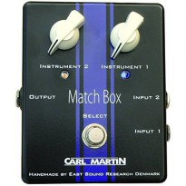 [worldbuyer] Carl Martin Match Box Dual Instrument to Single Amp Selector/370766