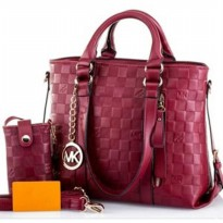 DJ Fashion The Elegant Woman Bag - Red