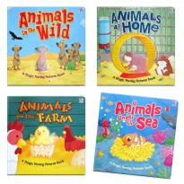 [Xivan] Animals in the Wild/under the Sea/on the Farm/at Home Magic Moving Pictures Board Book