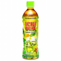 Ichi Ocha Minuman Teh Rasa Green Tea - 500 ml isi 12pcs