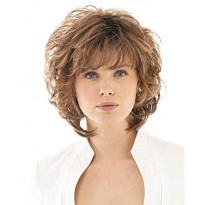 [macyskorea] Unknown Salsa R829S Glazed Hazenut Short Cut Layered Wig by Raquel Welch/18814760