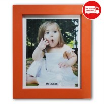 THE OLIVE HOUSE - PHOTO FRAME E-03 MDF ORANGE 8R (20x25)