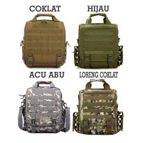 Tas Laptop Army / Army Backpack P411