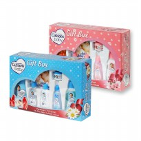 Cussons Baby Gift Box set isi 7pcs [ Blue / Pink ]