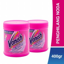 Vanish Penghilang Noda Oxi Action Powder (400 gr)  x 2