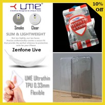 Asus Zenfone Live ZB501KL Ume Ultra Fit Air Silicon Soft Case Softcase Casing