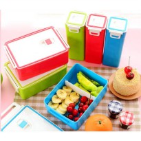 [globalbuy] SISTEMA Lunch/Salad Boxes/Cubes/Soup/Microwave / Sports Drink Bottles BPA Free/3251008