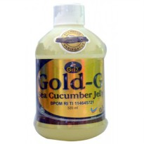 Jelly Gamat 320ml Gold G - Sea Cucumber Jelly Gamat 320ml