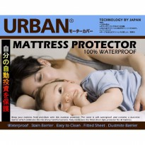 Bed Protector Urban Queen Size Sprei Waterproof 160x200 160 x 200 CM