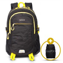 Real Polo Tas Ransel Laptop Kasual Backpack Up to 15 inch Bonus Bag Cover
