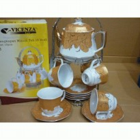 [Vicenza] Cup and Saucer C78 (1 Set Isi 15 pcs )