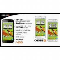 Smartphone Evercoss A66 Android OS 4.2 Jelly bean 13MP Camera + HSPDA 3G