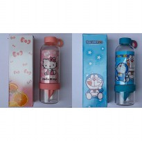 Citrus Zinger Anak Kid Tritan Infused Bottle Botol Minum BPA Free Juicer Hello Kitty, Doraemon,Smurf