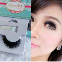 LASHOUSE CASIE bulumata palsu tebal cetar natural eyelash thick