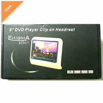 HEADREST DVD + GAME CLIP ON ENIGMA 9917-9'