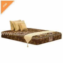 Central Deluxe Single Pillowtop 160 x 200 ( Mattress Only ) Coklat