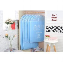 5 in 1 Cloth Cover BLUE ( 1 set isi 5 pcs cloth cover )