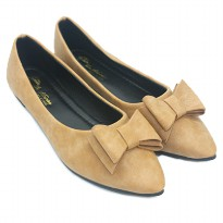 Dr.Kevin Women Flat Shoes 65151 Coffee