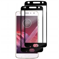 HMC Motorola Moto Z2 Play / XT1710 - 2.5D Full Screen Tempered Glass - Lis Hitam