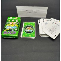 Playing Card / Kartu Remi Kingdom Pokemon Green