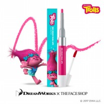 [The Face Shop] Ink Draw Dual Lip Trolls Edition