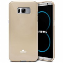 Mercury Goospery Jelly Case Samsung Galaxy S8 Plus (G955) - Gold