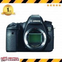 Canon EOS 6D Body Only - Hitam