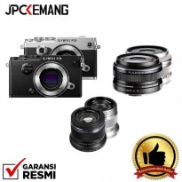 Olympus PEN-F Body with M.Zuiko 17mm f/1.8 + 45mm f/1.8  GARANSI RESMI