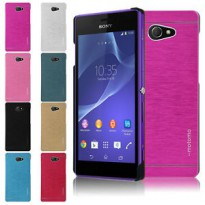 Motomo Hard Metal Back Case Sony Xperia M2