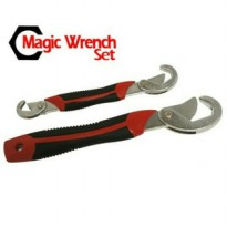 Snap grip Kunci Inggris Serbaguna magic wrench set