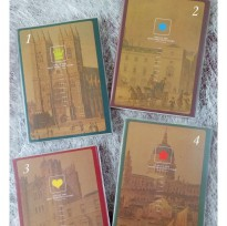 Buku Tulis / Buku Catatan / Agenda Notebook Fancy - CITY ICON