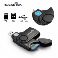 Rocketek Card Reader USB 3.0 Micro SD / SD Card 5Gbps - RT-CR3