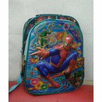 Tas Ransel TK/SD 14' LED Spiderman