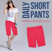 New Collection! Women Daily Short Pants - Good Material - Celana Wanita - Celana Santai