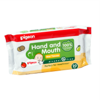 Pigeon Hand & Mouth Wet Tissue 20 Sheets